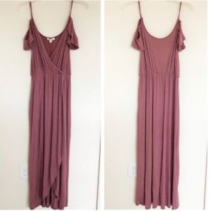 Rolla Coster Mauve Sleeveless Maxi Dress